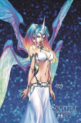Soulfire #9 (Aspenstore 2009 Cover)