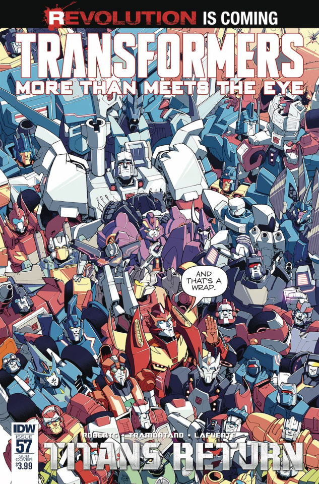The Transformers: More Than Meets the Eye #57 (Subscription Cover)