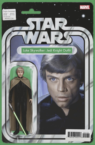 Star Wars: Empire Ascendant #1 (Christopher Action Figure Cover)