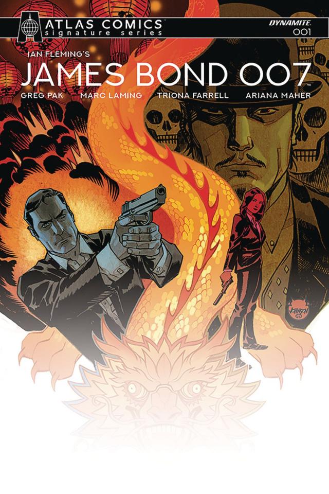 James Bond: 007 #1 (Atlas Pak Signed Edition)
