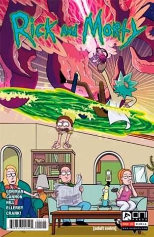 Rick and Morty #1 (5th Printing)