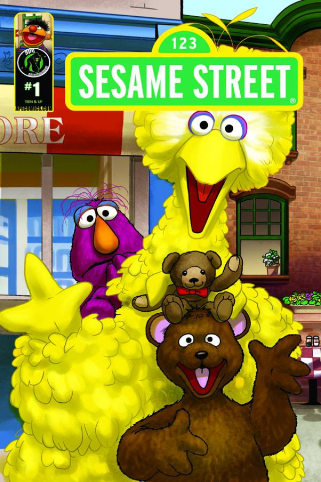 Sesame Street #1 (Imagination Cover A)