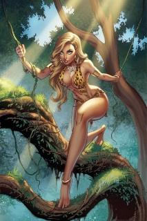 Sheena #1 (50 Copy Campbell Virgin Cover)