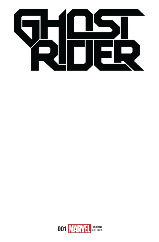 Ghost Rider #1 (Blank Cover)