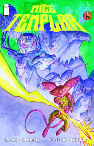 Mice Templar: The Legend #5 (Oeming Cover)