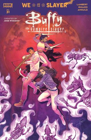 Buffy the Vampire Slayer #31 (Frany Cover)
