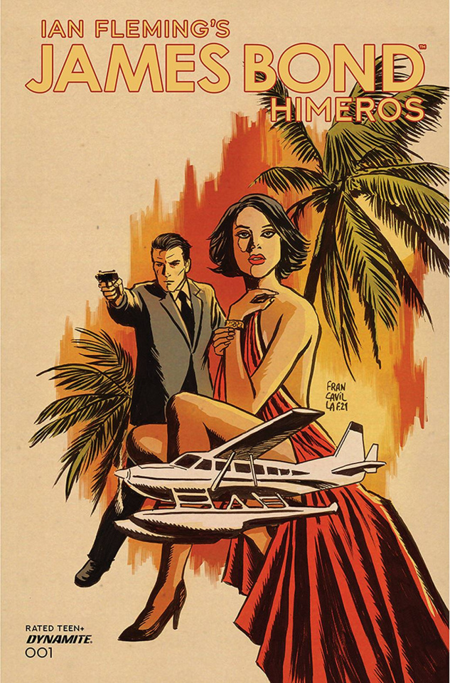 James Bond: Himeros #1 (Francavilla Cover)