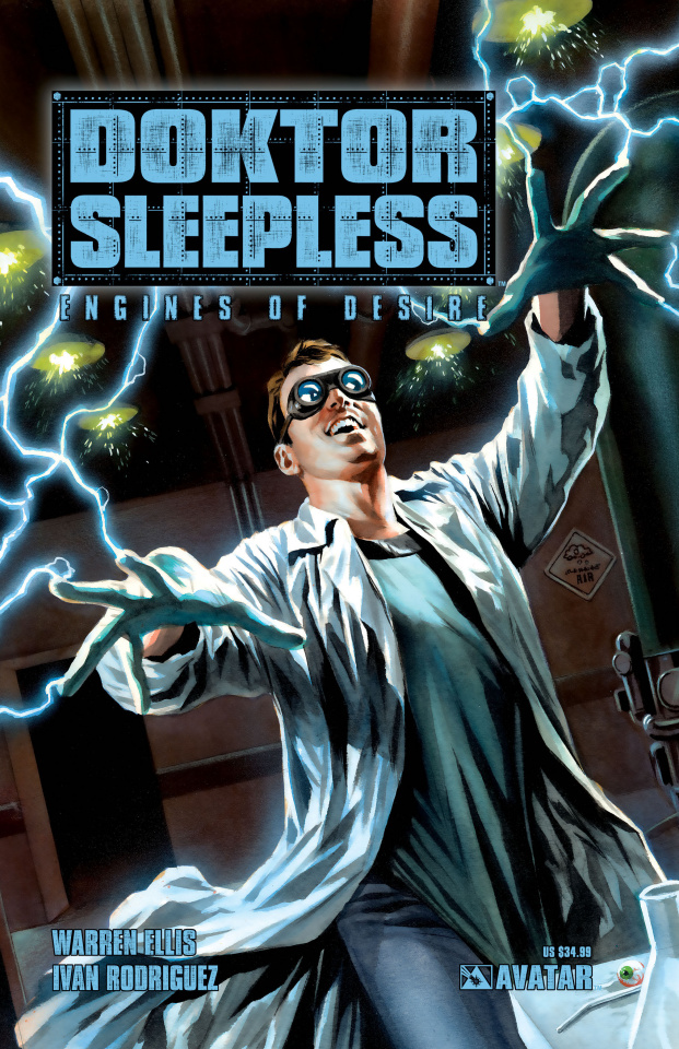 Doktor Sleepless Vol. 1: Engines of Desire