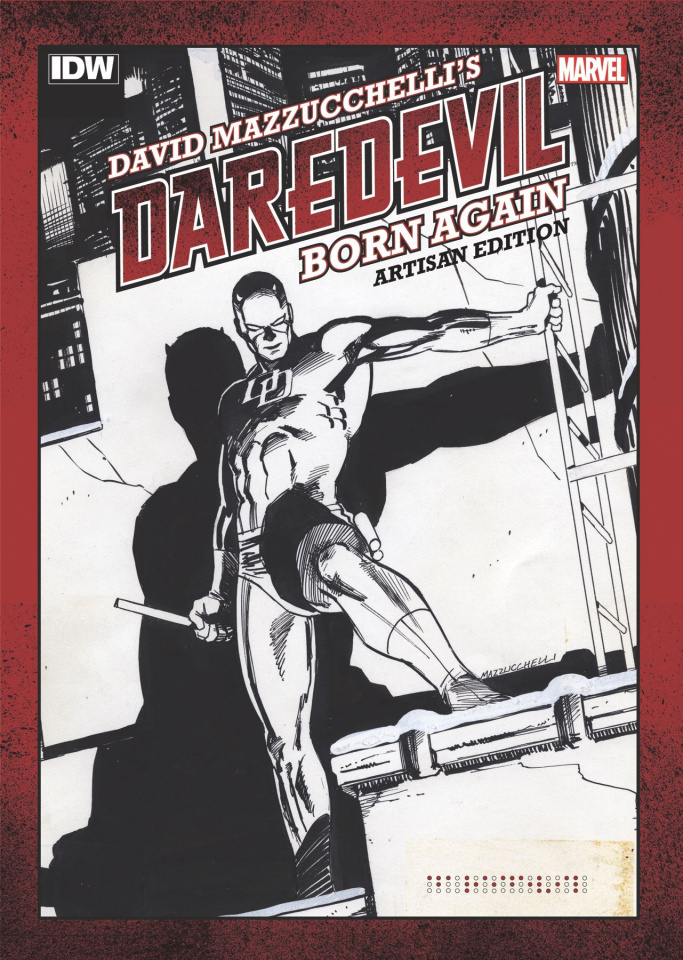 David Mazzuchelli's Daredevil: Born Again (Artisan Edition)