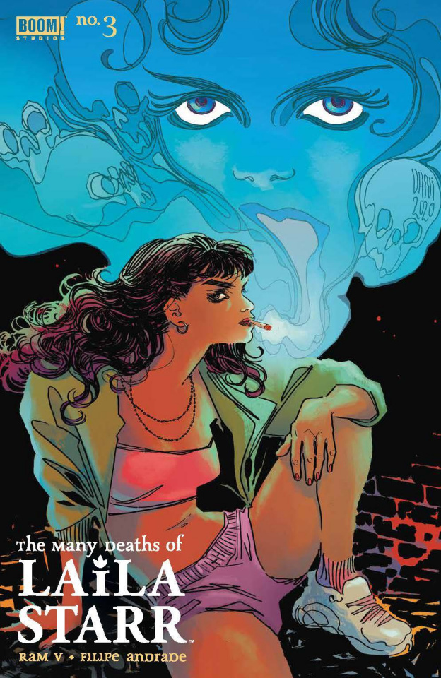 The Many Deaths of Laila Starr #3 (Dani Foil Cover)