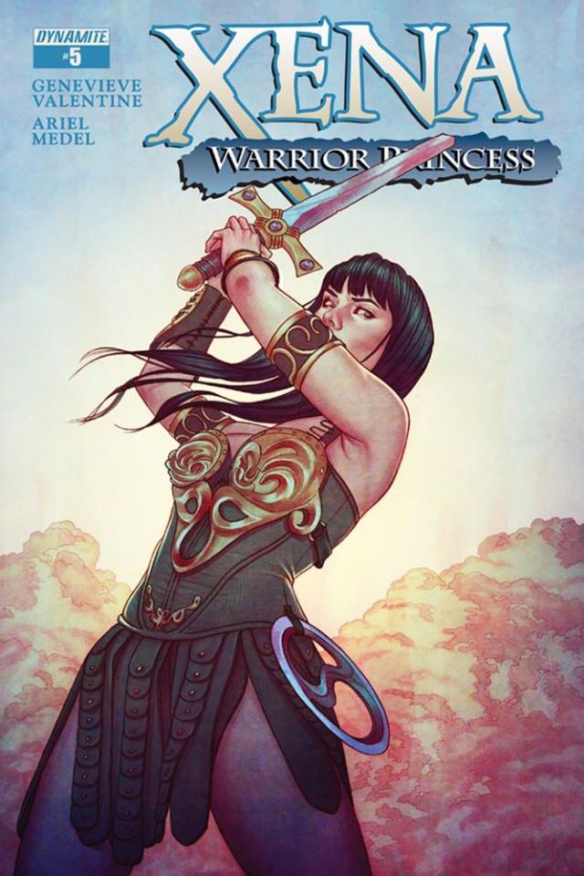 Xena: Warrior Princess #5 (Frison Cover)