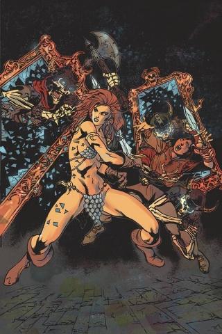 Killing Red Sonja #4 (11 Copy Castro Virgin Cover)