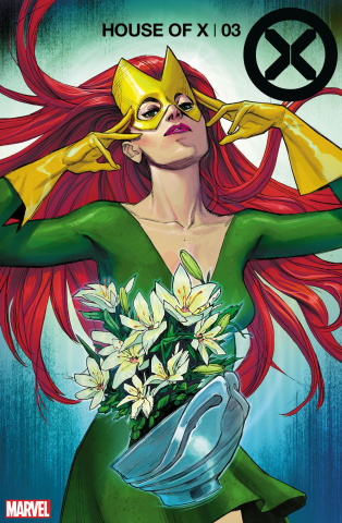 House of X #3 (Pichelli Flower Cover)