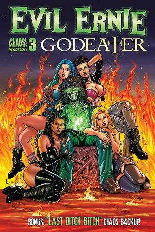 Evil Ernie: Godeater #3 (Razek Cover)