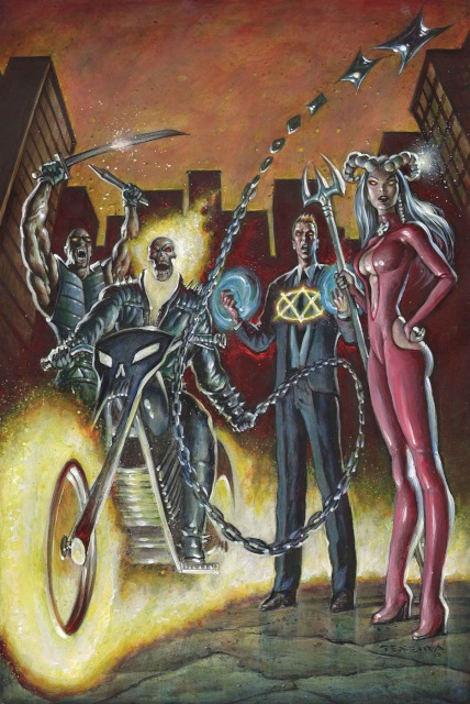 Spirits of Vengeance #1 (Texeira Cover)