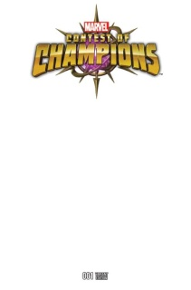 Contest of Champions #1 (Blank Cover)