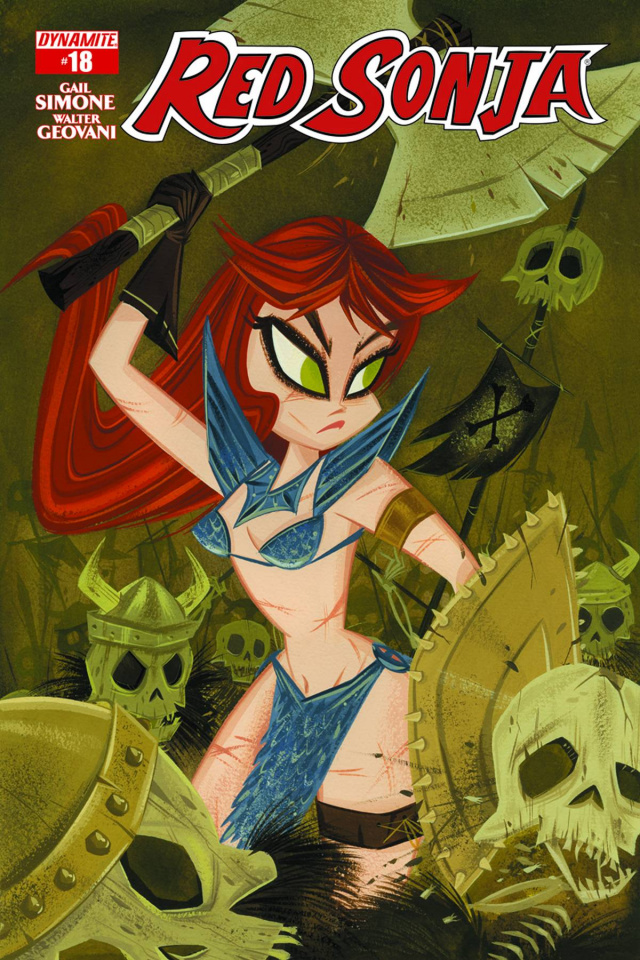 Red Sonja #18 (Subscription Cover)
