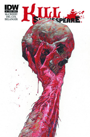 Kill Shakespeare: The Tide of Blood #1 (10 Copy Cover)