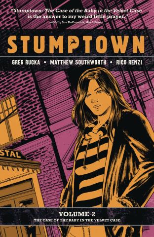 Stumptown Vol. 2: The Case of Baby Velvet Case