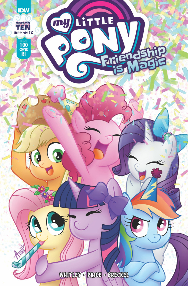 My Little Pony: Friendship Is Magic #100 (10 Copy Garbow Cover)