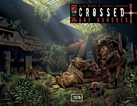 Crossed + One Hundred #2 (American History X Wrap Cover)
