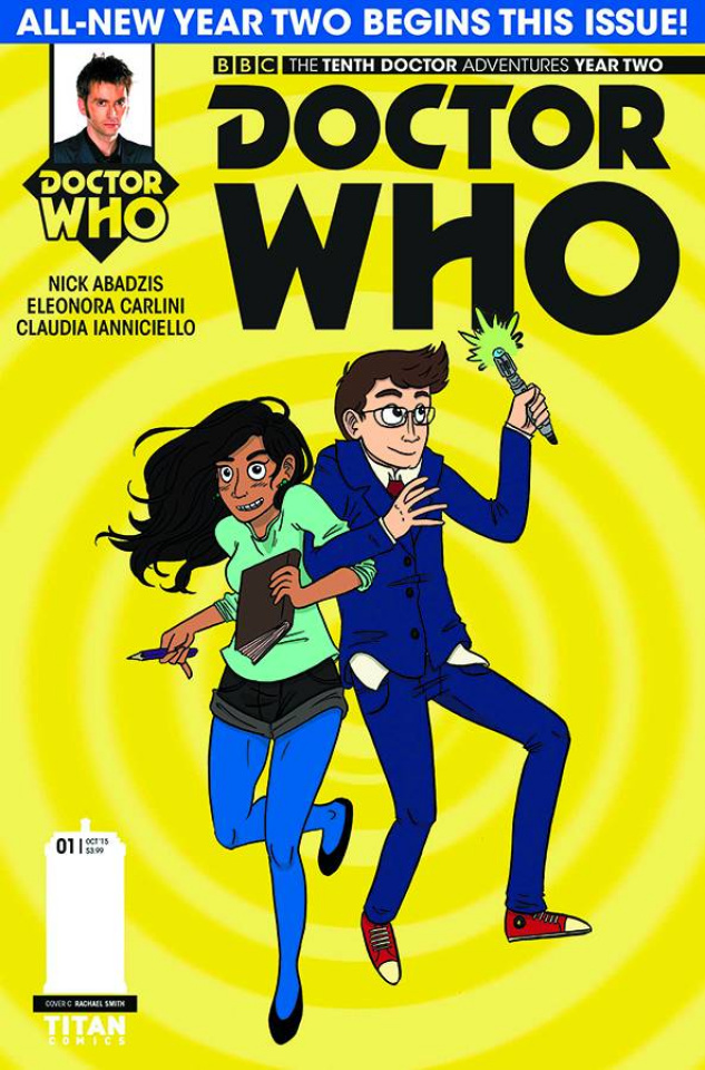 Doctor Who: New Adventures with the Tenth Doctor, Year Two #1 (10 Copy Incentive Cover)