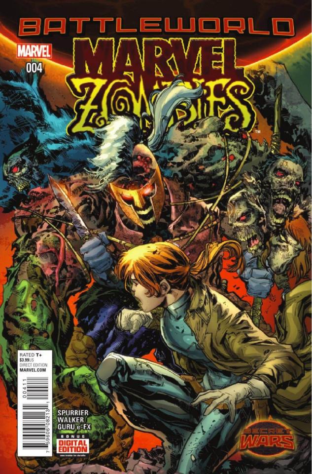 Marvel Zombies #4 Swa