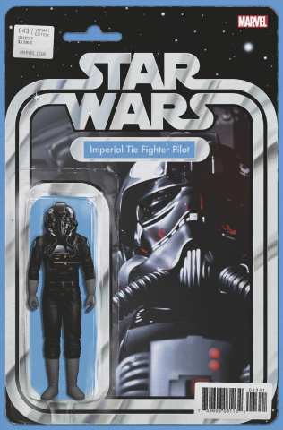 Star Wars #43 (Christopher Action Figure Cover)