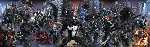 Venomverse #1 (Crain Connecting Cover)