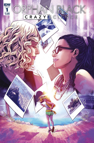 Orphan Black: Crazy Science #1 (Ossio Cover)