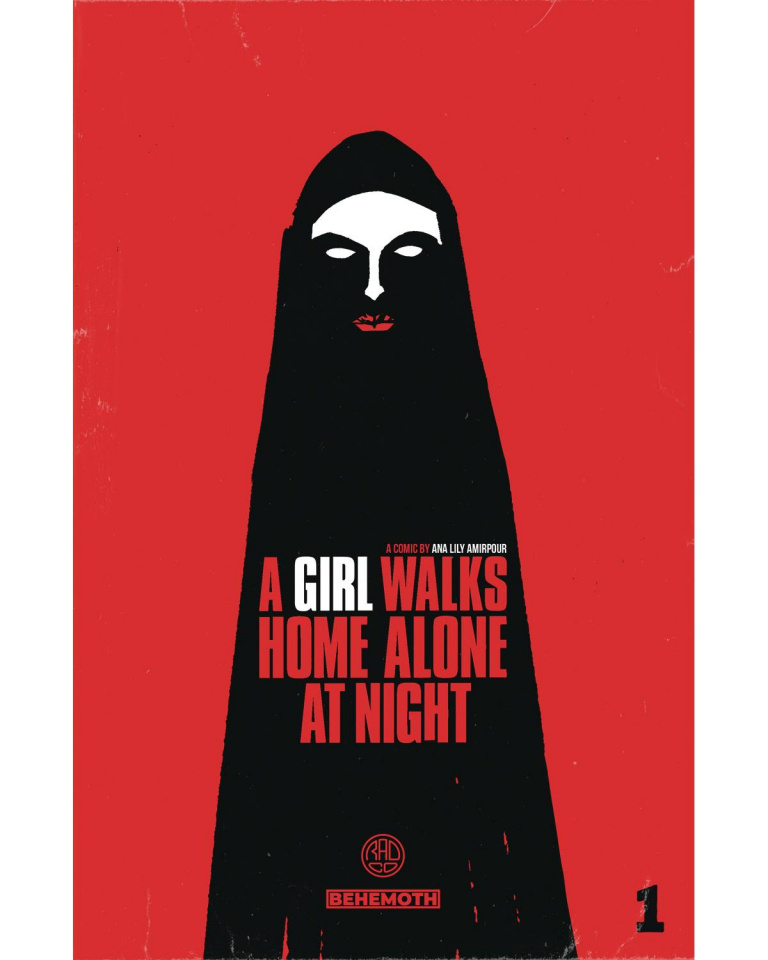 A Girl Walks Home Alone At Night #1 (Deweese Cover)