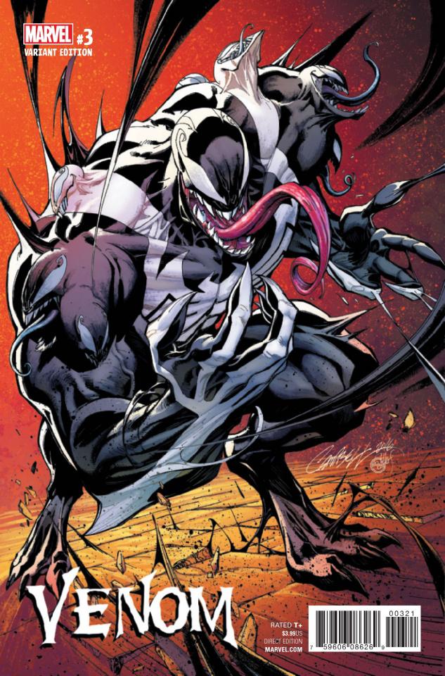 Venom #3 (Campbell Cover)