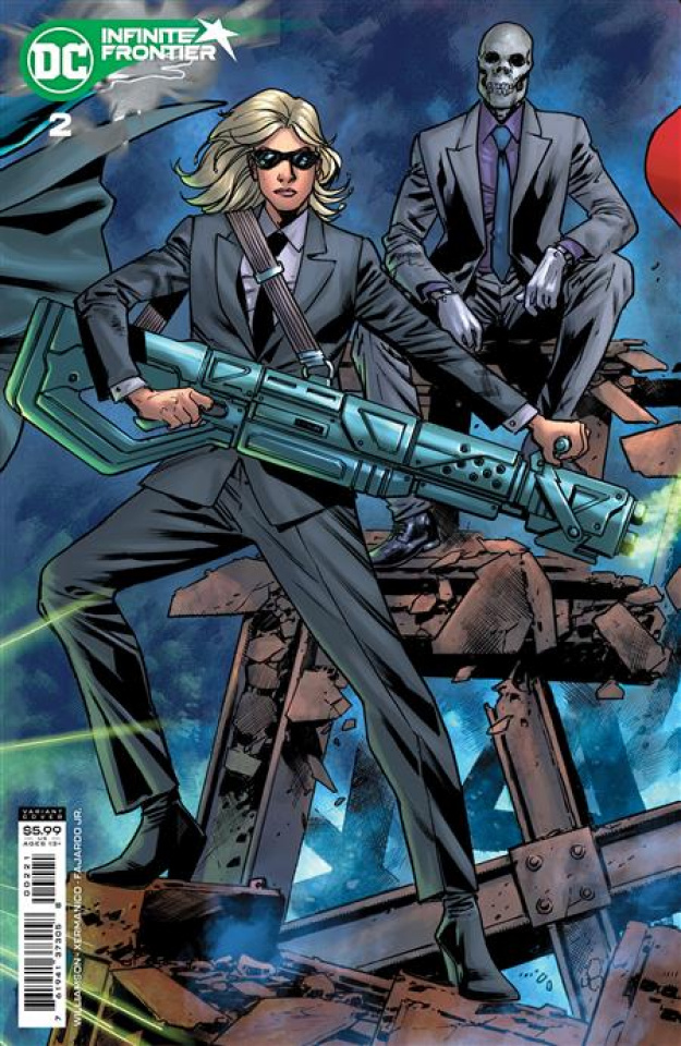 Infinite Frontier #2 (Bryan Hitch Card Stock Cover)