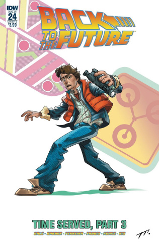 Back to the Future #24 (Montell Cover)