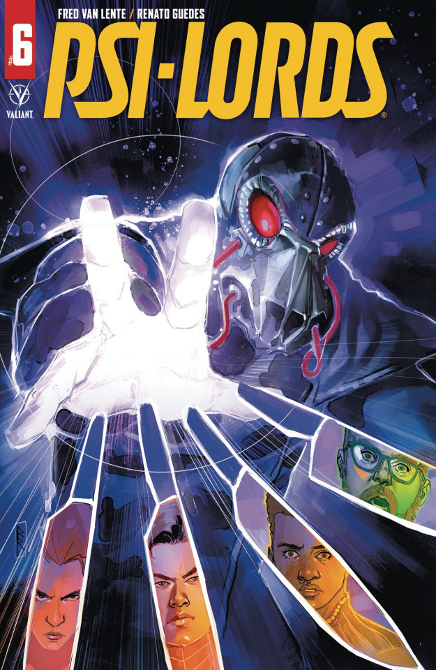 Psi-Lords #6 (Reis Cover)