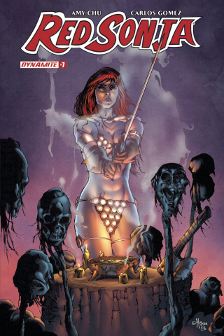 Red Sonja #7 (Rubi Subscription Cover)