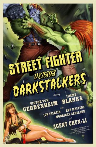 Street Fighter vs. Darkstalkers #0 (10 Copy Vriens Cover)