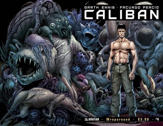 Caliban #4 (Wrap Cover)