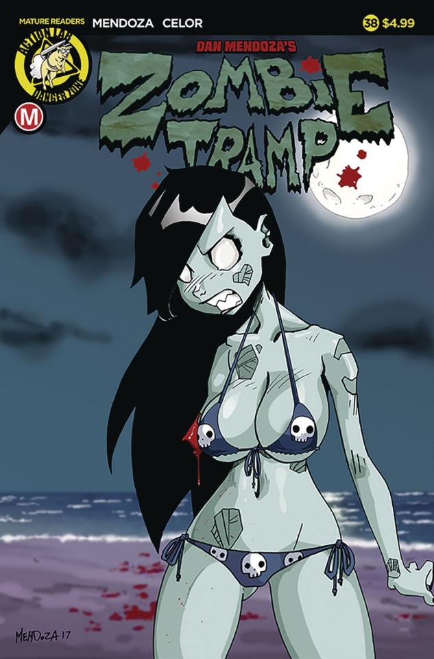 Zombie Tramp #38 (Mendoza Cover)