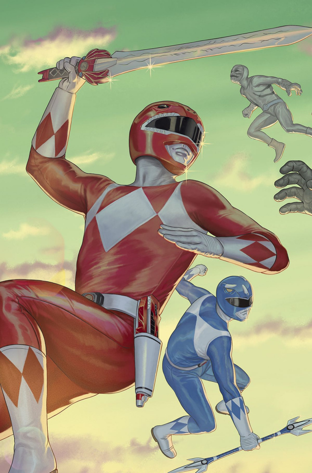Mighty Morphin' Power Rangers #14 (20 Copy Morris Cover)