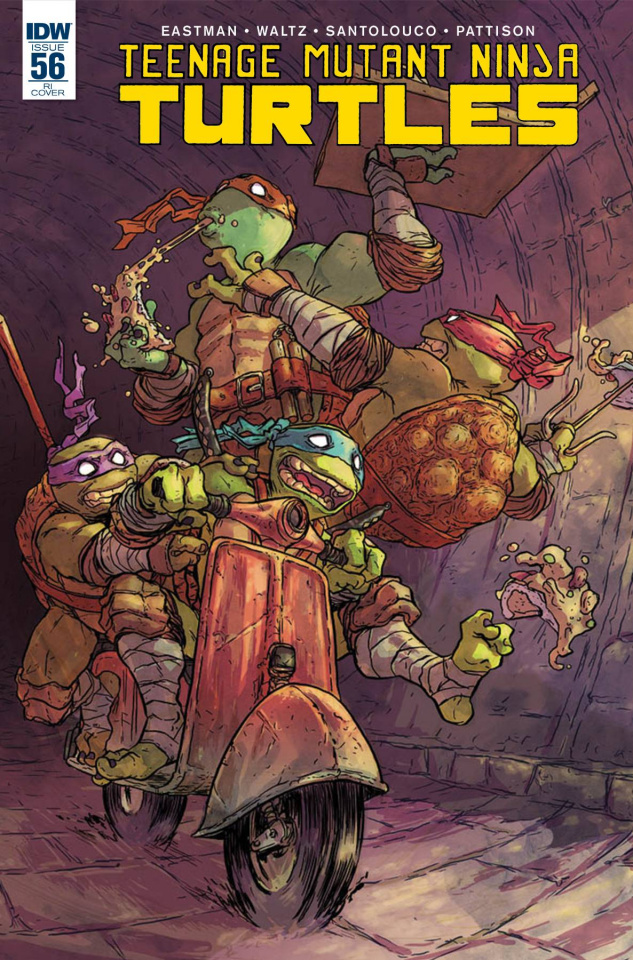 Teenage Mutant Ninja Turtles #56 (10 Copy Cover)