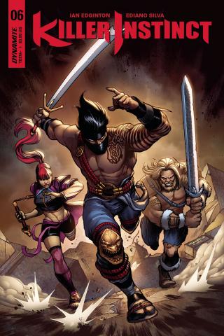 Killer Instinct #6 (Cinar Cover)