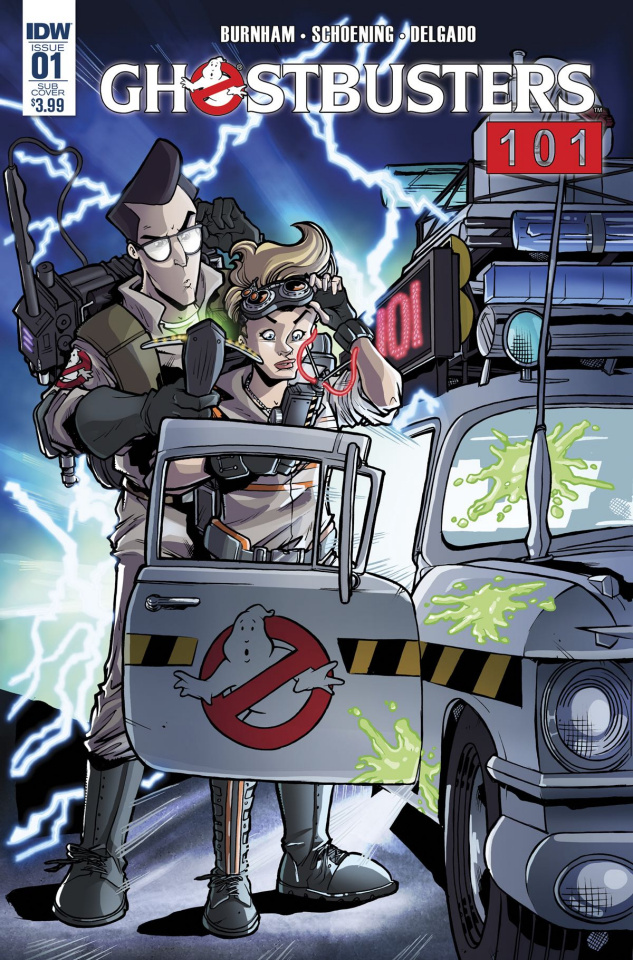Ghostbusters 101 #1 (Subscription Cover)