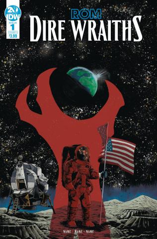 ROM: Dire Wraiths #1 (Pizarri Cover)