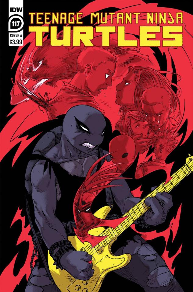 Teenage Mutant Ninja Turtles #117 (Sophie Campbell Cover)