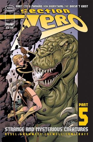 Section Zero #5 (Grummett & Kesel Cover)
