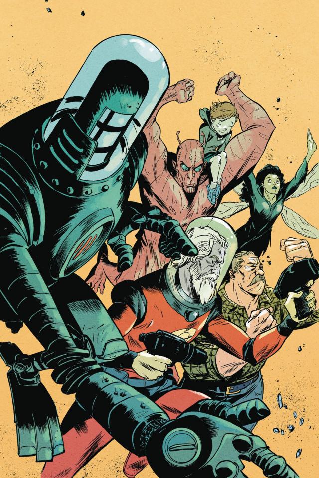 Black Hammer: Age of Doom #9 (Greene Cover)