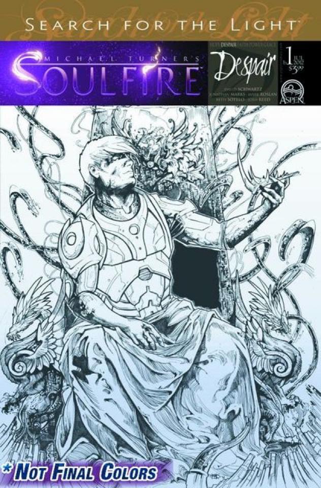 Soulfire: Despair #1 (Marks Cover)