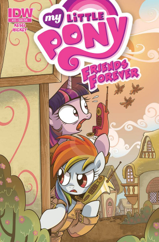 My Little Pony: Friends Forever #25 (Subscription Cover)