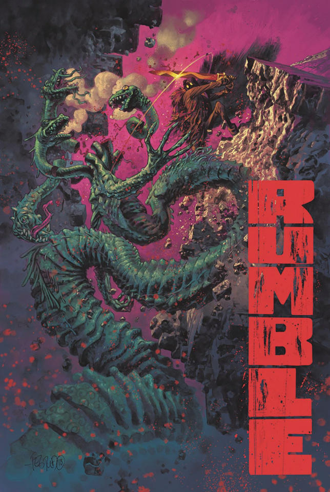 Rumble #9 (Fegredo Cover)